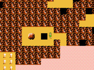 'Zelda II: The Adventures of Link' screenshot