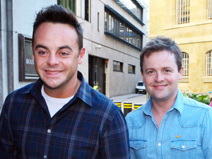 Ant and Dec outside the BBC Broadcasting House & Radio Theatre for the Chris Moyles Breakfast Show