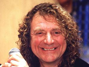 Robert Plant, lead singer of Led Zepplin in Moscow