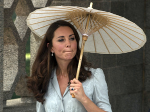 Duchess of Cambridge, visit to the Kranji War Memorial in Singapore