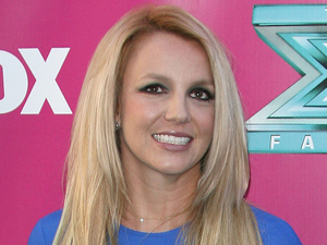 Britney Spears at The X Factor USA Season 2 premiere screening and handprint ceremony at Grauman's Chinese Theater, Los Angeles