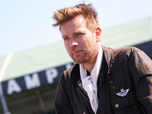 Ewan McGregor at the Goodwood Revival 2012, Chichester.
