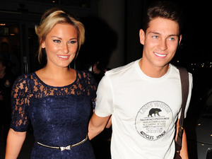 Sam Faiers and Joey Essex go out to dinner at The Living Room restaurant and bar in Liverpool.
