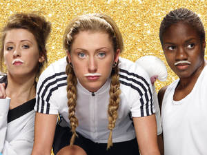 Nicola Adams, Laura Trott and Jade Jones in the latest &#39;Make Milk Mine&#39; campaign