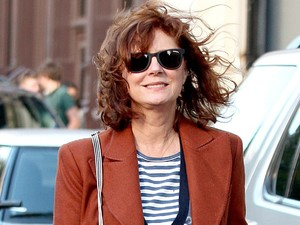 Susan Sarandon out and about in Manhattan.