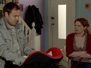 Tyrone tells Fiz what really happened with Ruby. A shocked Fiz struggles to believe that Kirsty would really hurt Ruby