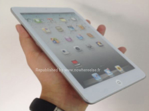 Leaked pictures of the new Apple iPad mini