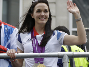 Victoria Pendleton at London 2012 Olympic Parade