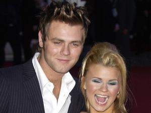 Brian McFadden and Kerry McFadden (Kerry Katona) Brit Awards held at Earl's Court London, England - 17.02.04 Credit: (Mandatory): WENN