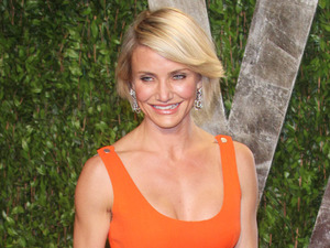 Cameron Diaz 2012 Vanity Fair Oscar Party at Sunset Tower Hotel - Arrivals West Hollywood, California