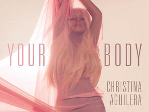 Christina Aguilera new single artwork for &#39;Your Body&#39;