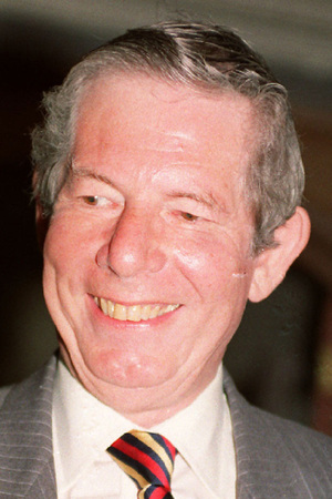 Veteran broadcaster and newspaper editor Derek Jameson, who has died aged 82. Derek is photographed here in 1993.