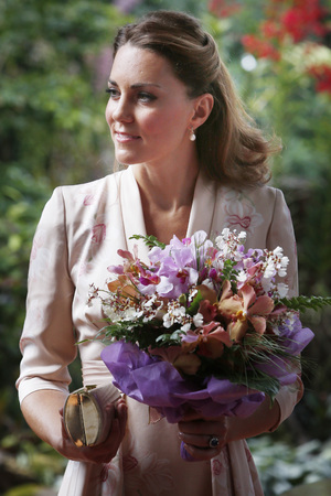 Duchess of Cambridge, nine-day tour of the Far East and South Pacific, Singapore