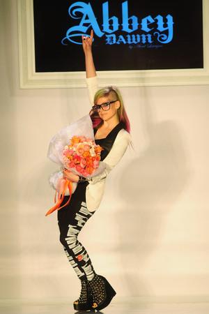 Avril Lavigne Mercedes-Benz New York Fashion Week Spring/Summer 2013 - Abbey Dawn - Runway New York City, USA