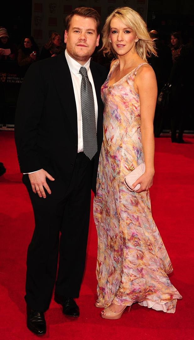 James Corden and wife Julia