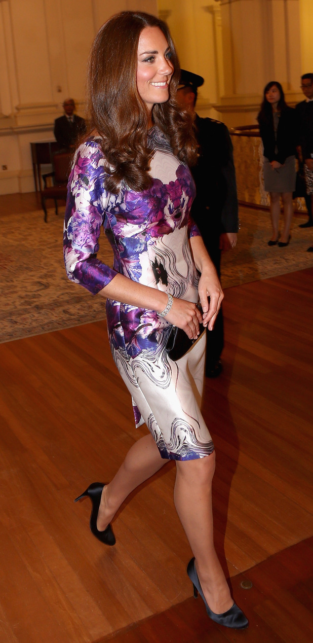 The Duchess of Cambridge on Far East tour pics