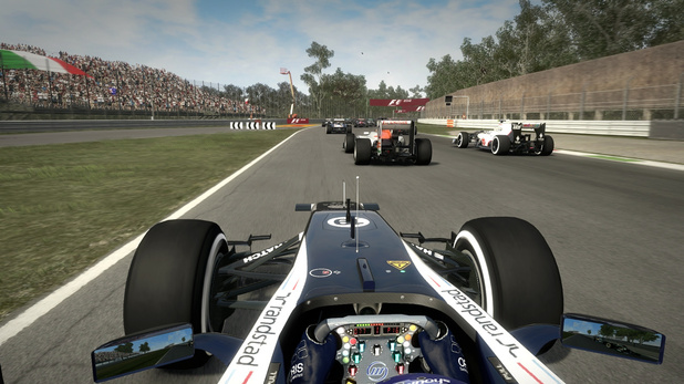 'F1 2012' Monza circuit screenshots