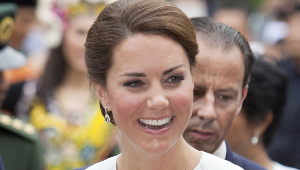 Catherine, Duchess of Cambridge aka Kate Middleton during a walkabout in the centre of Kuala Lumpur Kuala Lumpur, Malaysia - 14.09.12 **Available for publication in the UK & USA only. Not for publication in the rest of the world** Credit: WENN.com