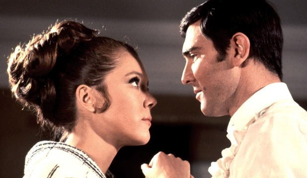 On Her Majesty&#39;s Secret Service, George Lazenby, Diana Rigg
