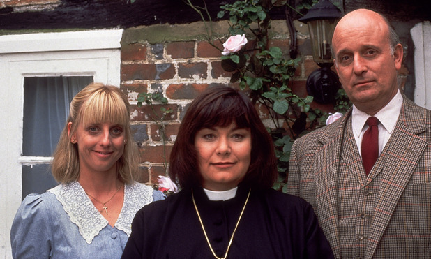 Vicar of Dibley - Alice, Geraldine and Davie