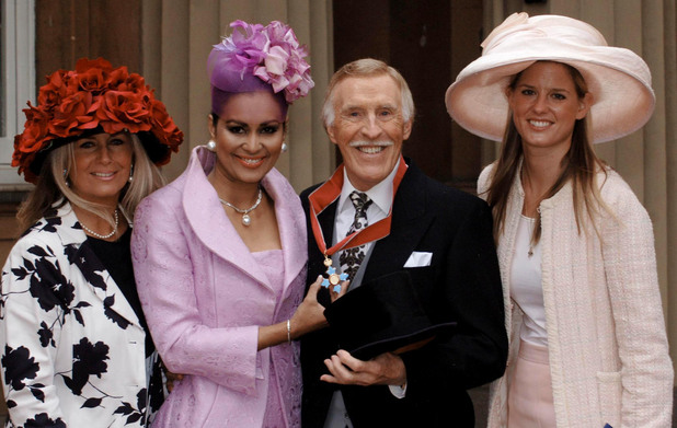 Bruce Forsyth received a CBE