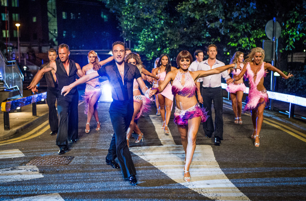 Strictly Come Dancing 2012 launch show: Pro Dancers