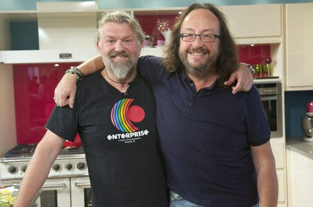 The Hairy Bikers Simon King and David Myers on This Morning