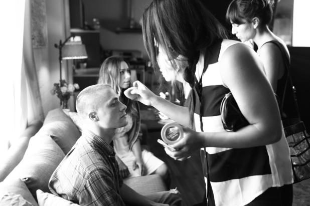 Leona Lewis filming