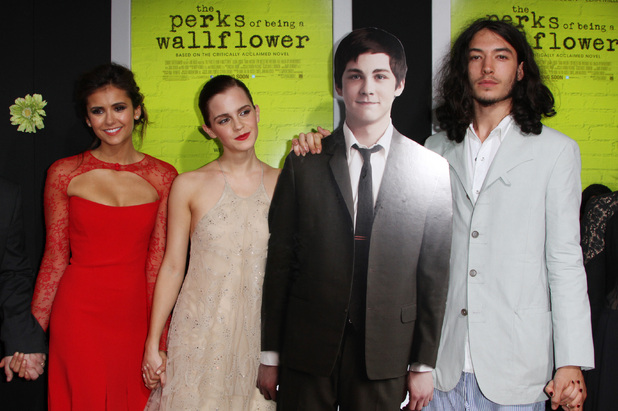 Nina Dobrev, Emma Watson, Ezra Miller, The Perks of Being a Wallflower
