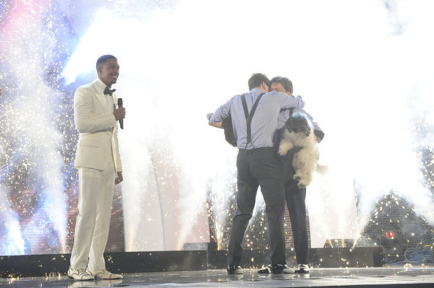 Olate Dogs winning America's Got Talent 2012