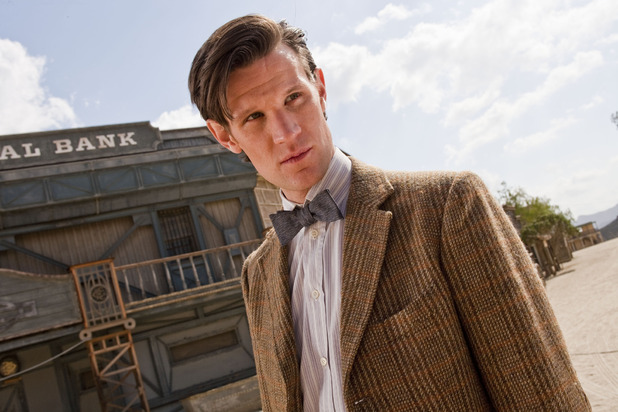 Doctor Who S07E03 - &#39;A Town Called Mercy&#39;: The Doctor (Matt Smith)