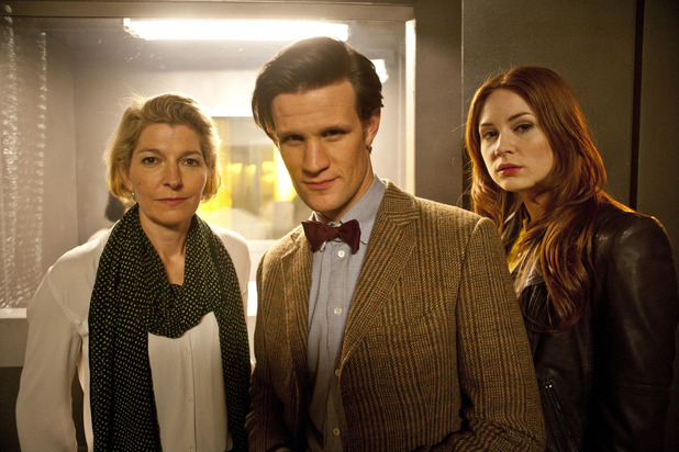 Kate, The Doctor and Amy