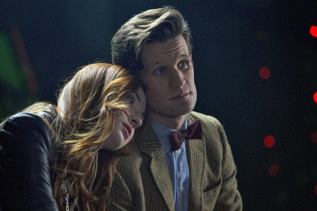 Doctor Who S07E04 - 'The Power of Three': Amy Pond (KAREN GILLAN), The Doctor (MATT SMITH)