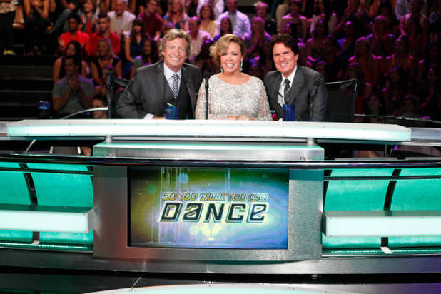 So You Think You Can Dance S09E14: Judges Nigel Lythgoe, Mary Murphy and Rob Mrashall