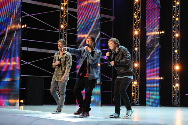 The X Factor USA S02E01: EMBLEM3