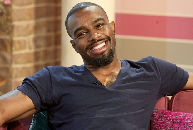 Eastenders star Chucky Venn appears on 'This Morning'