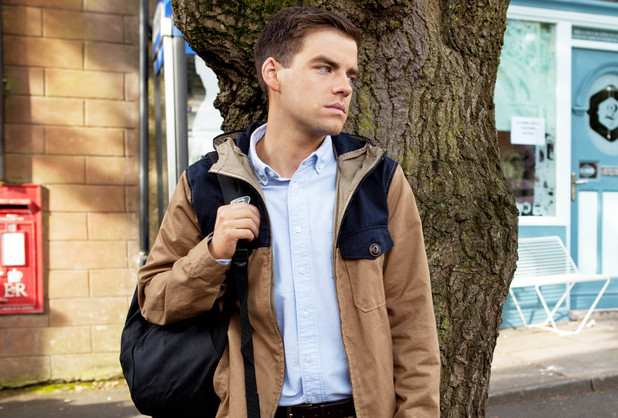Is Doug running away from Ste?