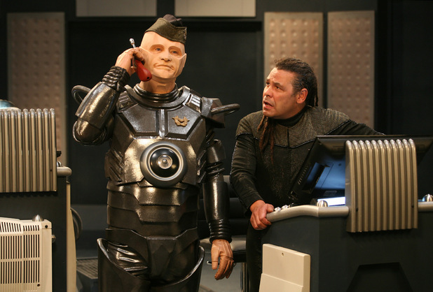 Kryten and Lister