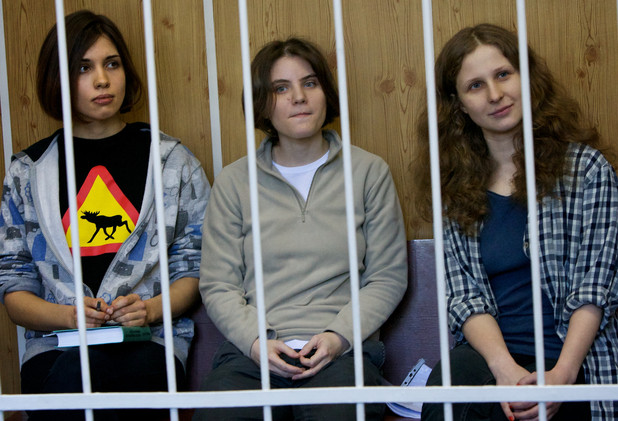 Radical Feminist punk group Pussy Riot