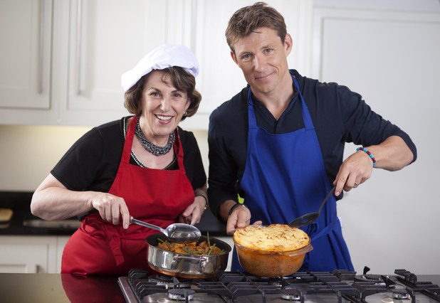 Ben Shephard and Edwina Currie go head-to-head in the kitchen