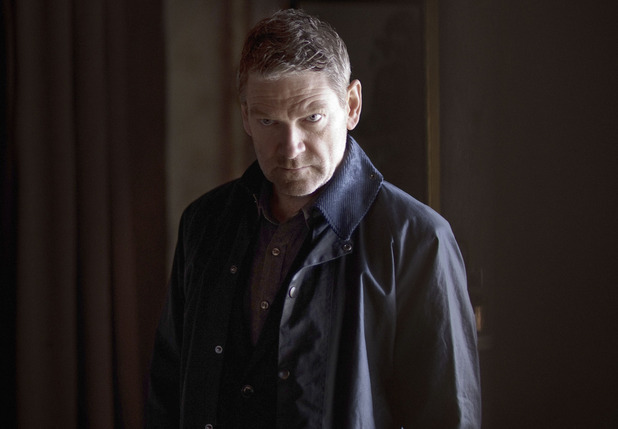 Kenneth Branagh as Kurt Wallander in BBC's 'Wallander'