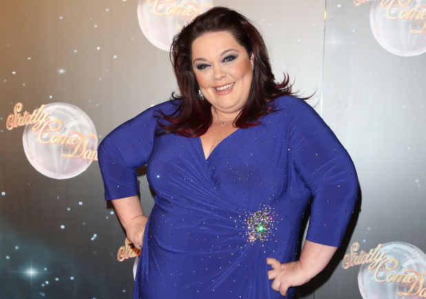 Lisa Riley Strictly Come Dancing 2012 launchMandatory Credit: Lia Toby/WENN.com