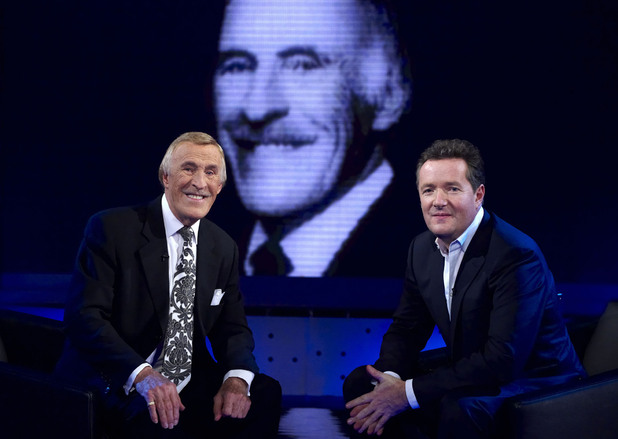 In 2010 Bruce Forsyth appeared on the autobiography-interview show 'Piers Morgan's Life Stories' on ITV
