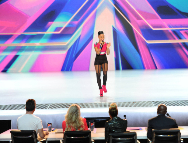 The X Factor USA S02E01: Paige Thomas