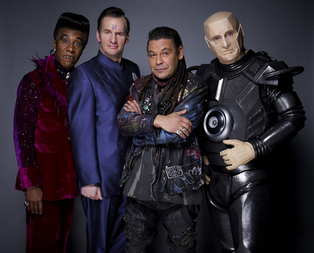 Red Dwarf X: Cat, Rimmer, Lister and Kryten