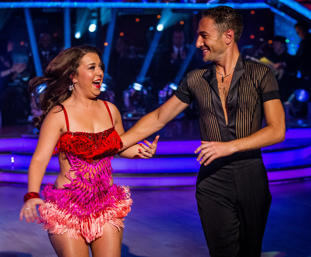 Strictly Come Dancing: Dani Harmer and Vincent Simone