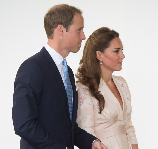 Prince William and Catherine Duchess of Cambridge Diamond Jubilee Tour, Singapore - 11 Sep 2012
