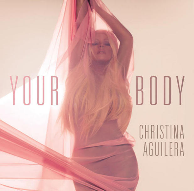 Christina Aguilera new single artwork for 'Your Body'