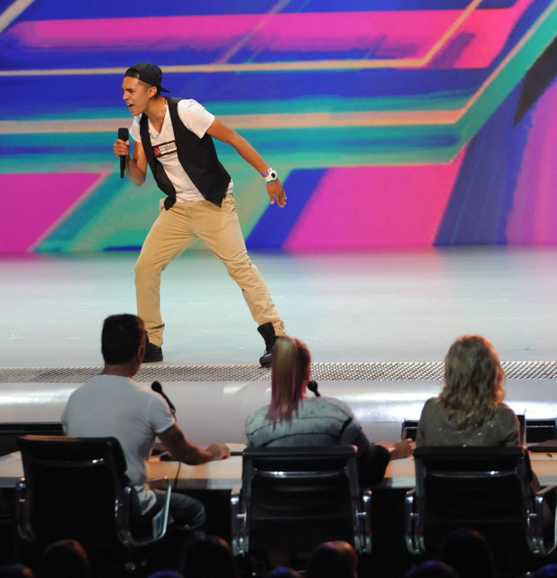 'The X Factor' USA, season 2 episode 2: Johnny Maxwell