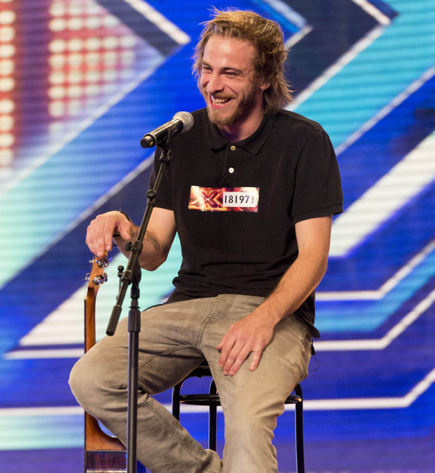 Robbie Hance's audition on The X Factor